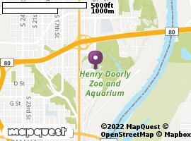 Omaha's Henry Doorly Zoo   MapQuest Discover