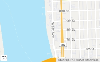 Map of 800  West Ave  810, Miami Beach, FL 33139, USA