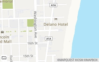 Map of 1910 Bay Drive PH02, Miami Beach, FL 33141, USA