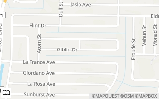 Map of Giblin Dr Lot 13, North Port, FL 34286, USA