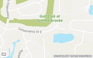 Map of 1268 Conservancy Drive East, Tallahassee, FL 32312, USA
