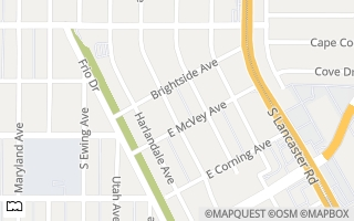 Map of 2922 Fernwood Ave, Dallas, TX 75216, USA