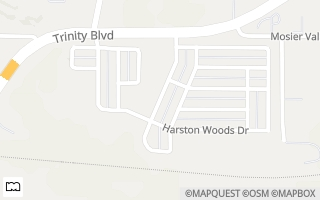 Map of 3114 Blue Ash Lane, Euless, TX 76040, USA