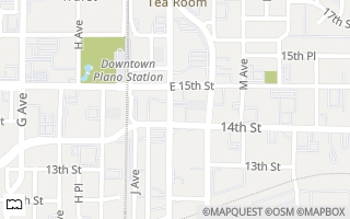 Map of 1410 K Ave Suite 1105A, Plano, TX 75074, USA