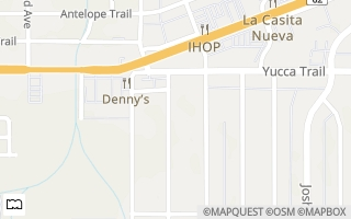Map of 7381 Aster Ave, Yucca Valley, CA 92284, USA