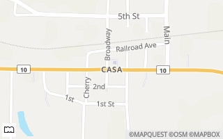 Map of RT4, Casa, AR 72025, USA