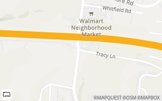 Map of 939 Tracy Lane A, Clarksville, TN 37040, USA