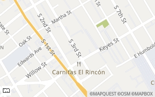 Map of 1060  S. 3rd St 161, San Jose, CA 95112, USA