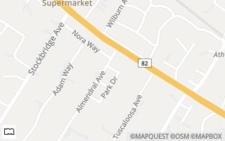 Map of 54 North Gate, Atherton, CA 94027, USA