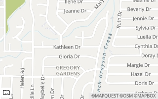 Map of 285 Kathleen Drive, Pleasant Hill, CA 94523, USA