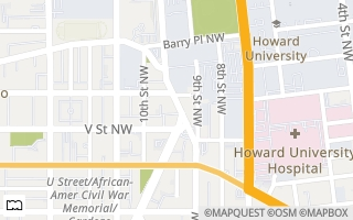 Map of 2120  Vermont Ave NW #319, Washington, DC 20001, USA