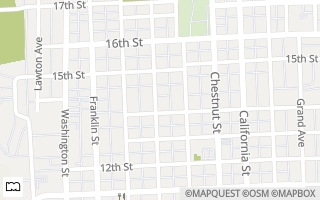 Map of 1427  Pearl Street, Columbus, IN 47201