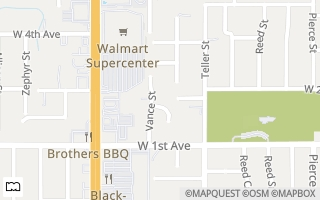 Map of 232 Vance Street, Lakewood, CO 80026, USA