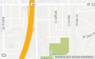Map of 2975 Xenon Street, Wheat Ridge, CO 80215, USA