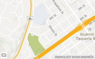 Map of 1110 5th Street, Golden, CO 80403, USA