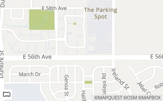 Map of 5714 N Gibralter Way #5-205, Aurora, CO 80019, USA