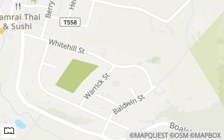 Map of 324  Warrick Street, Lemont, PA 16851, USA