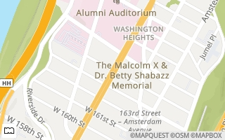 Map of Broadway & W 164th St, New York, NY 10032, USA