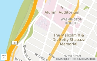 Map of Fort Washington Ave. and W 164th St., New York, NY 10032, USA