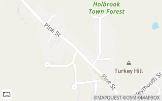 Map of 123 Pine Street, Holbrook, MA 02343, USA