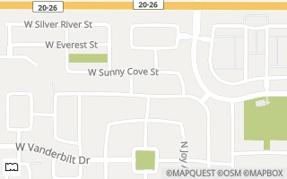 Map of 4450 W Lost Rapids Dr, Meridian, ID 83646, USA