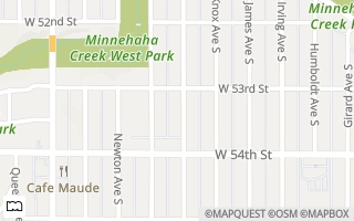 Map of 5316 Logan Ave S, Minneapolis, MN 55419, USA