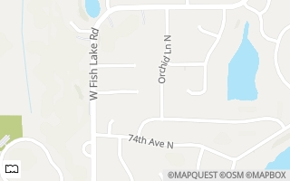 Map of 15324 75th Place N, Maple Grove, MN 55311, USA