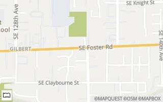 Map of 6411 SE 134th Ave, Portland, OR 97236, USA